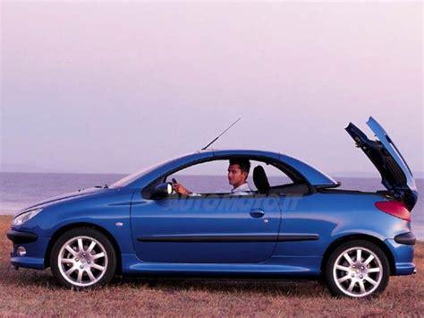 peugeot cabriolet 206 peugeot 206 cabrio 16v cc 11 2001 04 2003 prezzo e