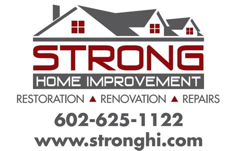new logo for strong home improvement travis strong yelp