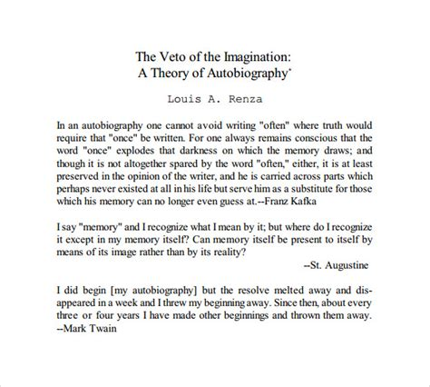 sle autobiography 10 documents in pdf word