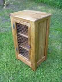 Kitchen Cabinet Polish diy pallet cabinet with chicken wire door pallet