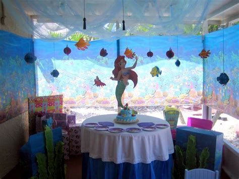 Ariel Decorations by Photo 3 Of 7 Mermaid Birthday Quot Mermaid