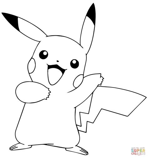 pokemon pikachu coloring pages online get this pokemon pikachu coloring pages 90gh3