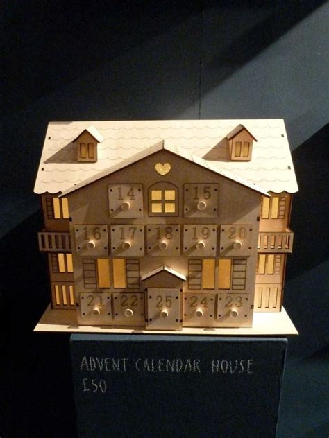 Wooden Advent Calendar House by 24 Best Wooden Advent Calendars Images On