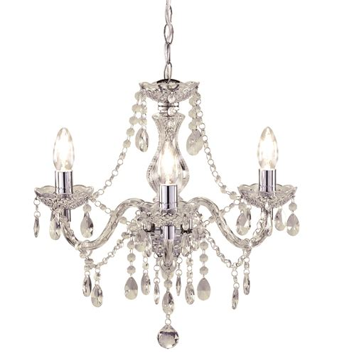 Chandelier Plastic Kliving Tuscany 3 5 Ceiling Light Acrylic Droplets Chandelier Clear Black Ebay