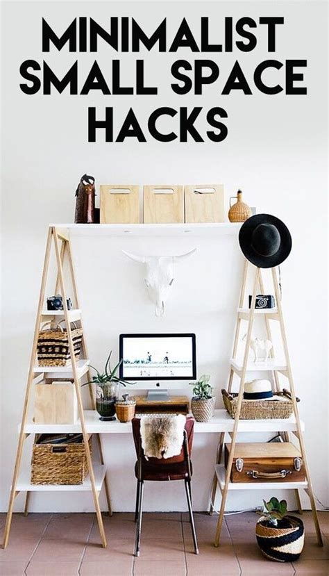 refreshingly minimalist small space hacks space hack
