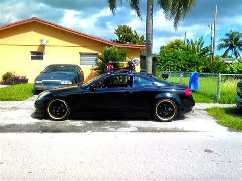 Infiniti G35 Roof Rack by G35 Coupe With Roof Racks G35driver Infiniti G35 G37 Forum Discussion