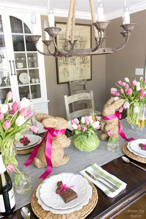 easter home decor setting a simple easter table with decorations you can