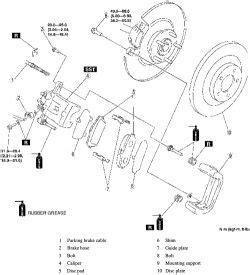 repair anti lock braking 2009 mazda mazda6 electronic toll collection repair guides rear disc brakes brake disc rotor autozone com