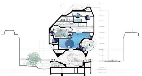 aquarium design application boltshauser architekten wins basel aquarium competition