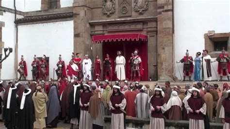 imagenes de jesus ante pilato juicio ante pilato flagelazi 243 n ecce homo youtube