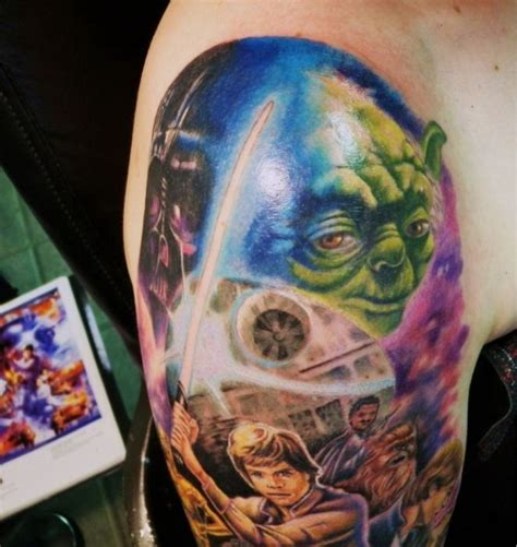 fabulous examples of star wars tattoos 118 pics