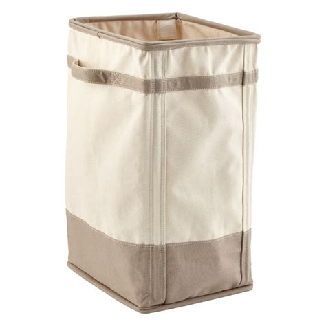 Natural Grey Canvas Laundry Her The Container Store Laundry Canvas