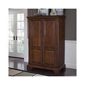 callon solid wood computer armoire in