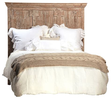 California King Wood Headboard Reclaimed Wood Headboard Cal King Rustic Headboards By Design Mix Furniture