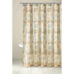 mainstays 13pc fabric shower curtain and decorative hooks