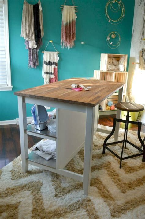 craft desk ikea alternative uses for an ikea kitchen island crafting desk