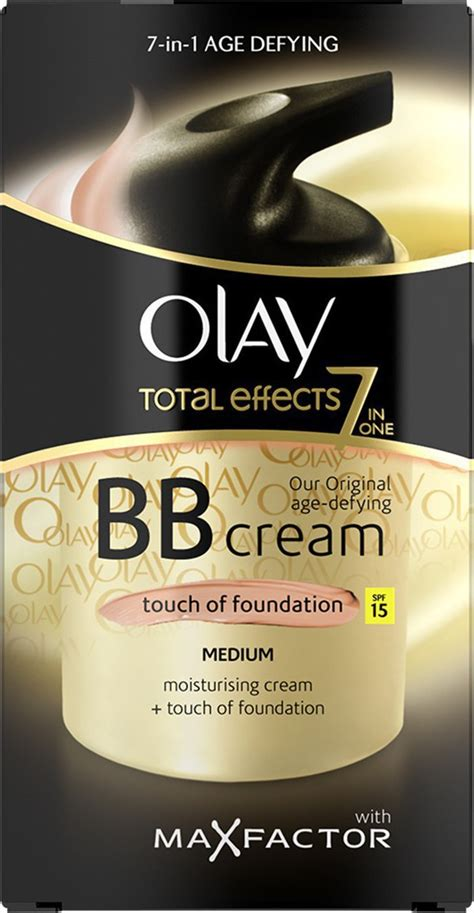 Olay Total Effect 50 Gr olay total effects bb 7in1 touch of foundation spf15
