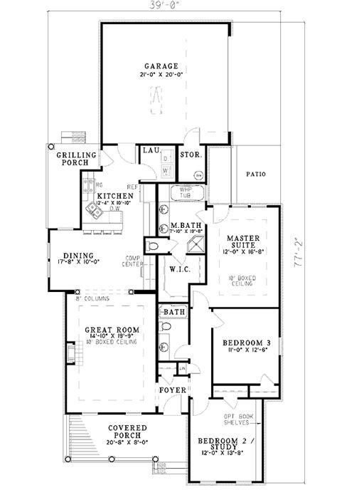 floor plans with garage on side side entry garage 5935nd architectural designs house
