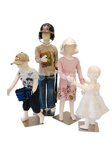 Ch Dress Oxy 4 units children mannequin dress form display jf