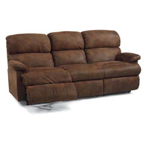 double sofa flexsteel 7066 62 chicago double reclining sofa discount