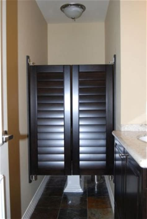 Blinds For Closet Doors More Custom Closet Doors Traditional Bathroom San Diego By Brothers Custom Shutters