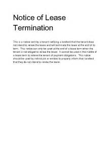 Notice Of Lease Termination by Welcome To Docs 4 Sale