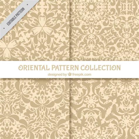 oriental pattern ai two oriental patterns vector free download