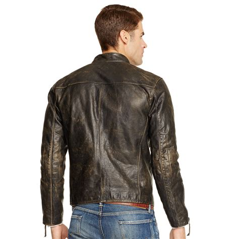 Cc034 Size M Black Blazer Formal Luaran Outerwear Fashion Wanita lyst polo ralph leather caf 233 racer jacket in black for
