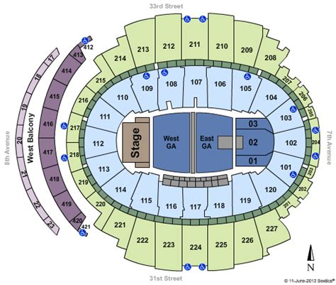 phish msg seating chart cheap square garden tickets