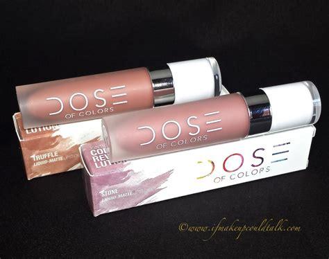 Dose Lipstick Kaufen dose of colors cosmetics 28 images bnib dose of colors terra collection liquid matte dose
