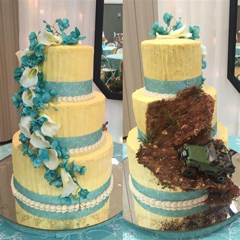 Wedding Car Jeep by Best 25 Jeep Cake Ideas On House Cake Car