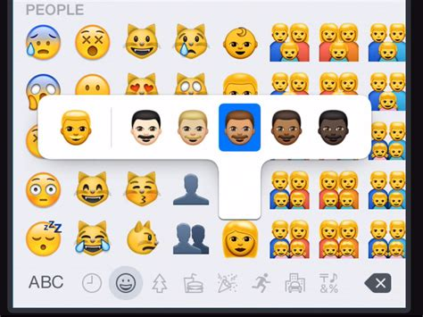 iphone emojis send diverse emojis on an iphone business insider