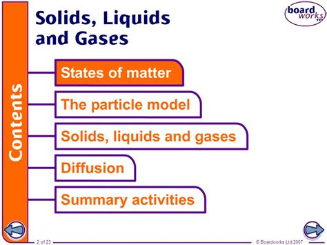 argon state of matter at room temperature solids liquids and gases ppt
