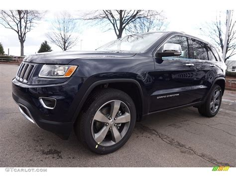 2016 True Blue Pearl Jeep Grand Cherokee Limited