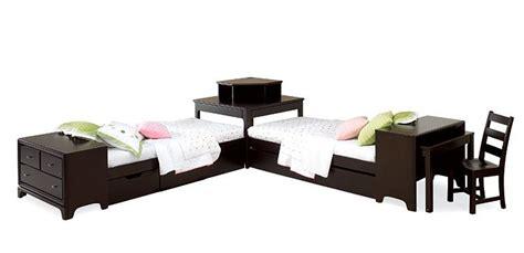 platform bed with desk midtown 2 platform beds with footboard dresser