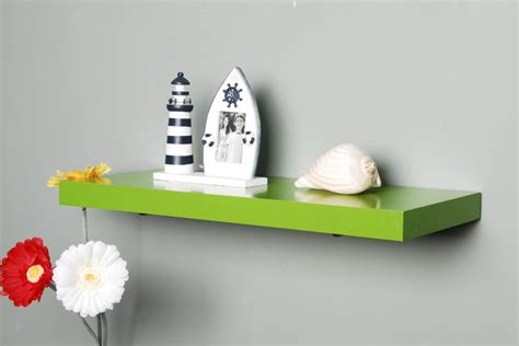 Green The Shelf by Floating Wall Shelf Casual Cottage