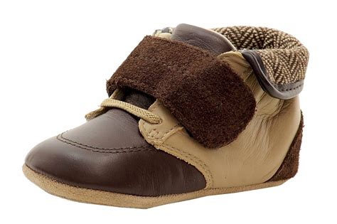 robeez boots robeez mini shoez infant boy s harrison fashion brown