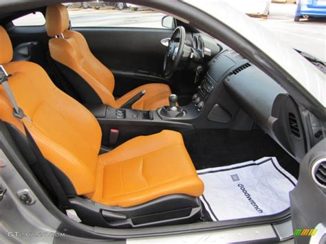 burnt orange leather interior 2006 nissan 350z touring coupe photo 41063587 gtcarlot com burnt orange interior 2005 nissan 350z touring coupe photo