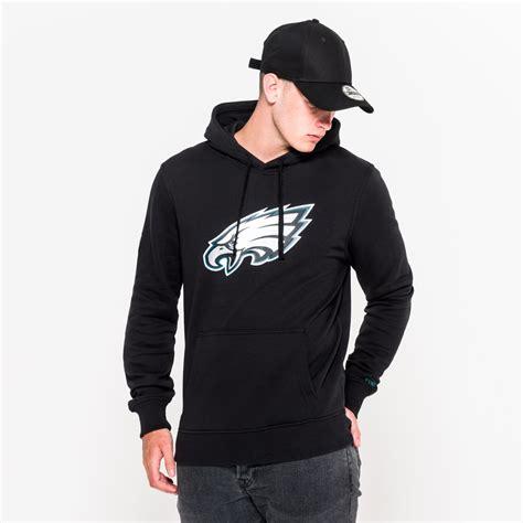 Hoodie Eagles Jidnie Clothing philadelphia eagles team logo black pullover hoodie new era