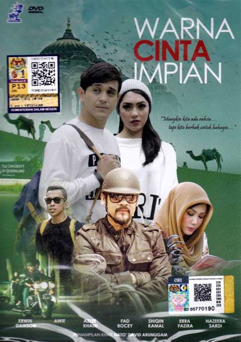 film malaysia warna cinta impian warna cinta impian dvd malay movie 2016 cast by awie