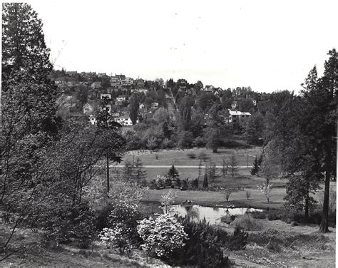 Uw Botanic Gardens Glimpse Into The Past An Pond And A New Garden In The Works