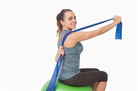 resistance band abdominal exercises livestrongcom