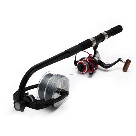 spooling a spinning reel how much pressure page 2 forum surftalk zanlure portable spooling line spinning fishing reel line spooler line winder spool holder