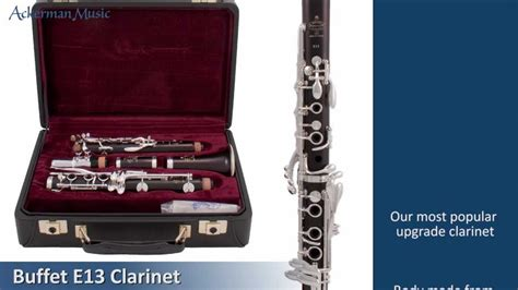 buffet e13 clarinet youtube