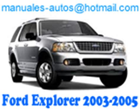 where to buy car manuals 2005 ford explorer on board diagnostic system ford explorer 2003 2004 2005 manual de reparacion mecanica