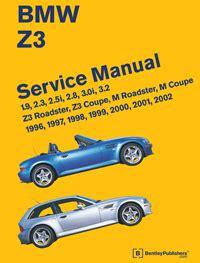 Bmw Service Manual Bmw Repair Manual Z3 Roadster Z3 Coupe M Roadster M