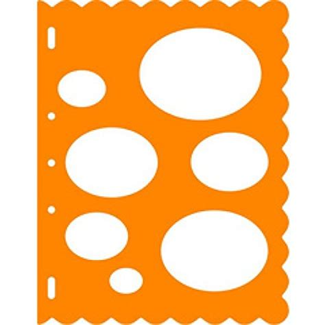 Fiskars Templates compare fiskars orange shape template tm ovals price
