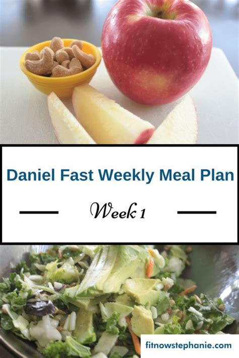Daniel Diet Detox Recipes by 7 Day Daniel Fast Meal Plan Including Recipe Links