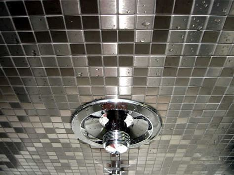 stainless steel bathroom tiles exotiles steel and glass mosaic tiles how to install stainless steel mosaic tiles
