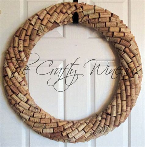 Wine Cork Monogram Wreath Rustic Pony Wine Cork Ornament In Poinsettia The Crafty Wineaux